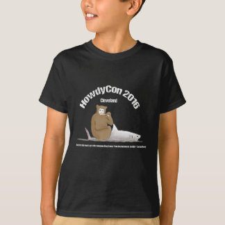 T-shirt Chemise foncée de HowdyCon/vitesse légère de