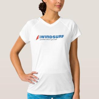 """T-shirt chemise """"fonctionnante"""" du blanc des femmes d'iW"""