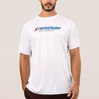 """T-shirt chemise """"fonctionnante"""" du blanc des hommes d'iW"""