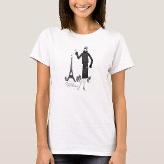 T-shirt chemise française de style des années 1920