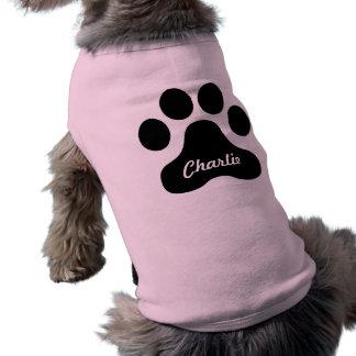 T-shirt Chemise géante d'impression de chien