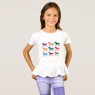 T-shirt Chemise géniale de filles de colts