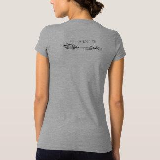 T-shirt Chemise-#getattached de la conscience T d'accueil