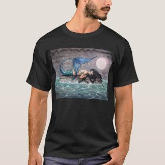 T-shirt Chemise gothique de sirène d'île minuscule