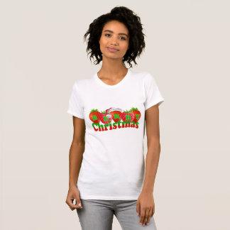 T-shirt chemise graphique mignonne de nouveauté de Noël de