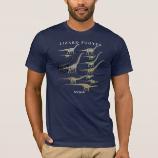 T-shirt Chemise Gregory Paul de dinosaure de Sauropod