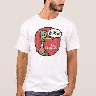 T-shirt Chemise grincheuse de langue de volaille