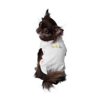 T-shirt Chemise grise de chiot de canard de canard de cana