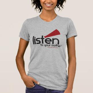 T-shirt Chemise grise de Heather LTYM des femmes [COURSES