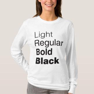 T-shirt Chemise helvetica de famille