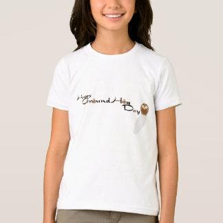 T-shirt Chemise heureuse de jour de GroundHog