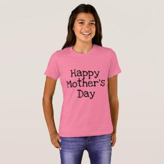 T-shirt Chemise heureuse de jour de mères
