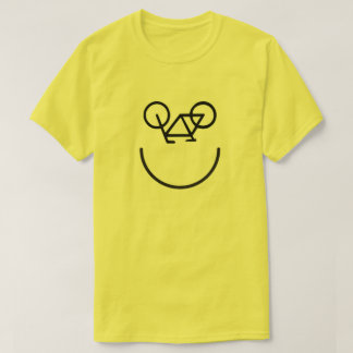 T-shirt Chemise heureuse de vélo