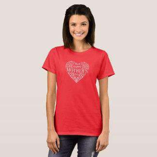 T-shirt Chemise heureuse lunatique du jour de mère