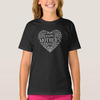 T-shirt Chemise heureuse lunatique du jour de mère |