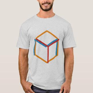 T-shirt Chemise hexagonale de logo d'orchestre magique