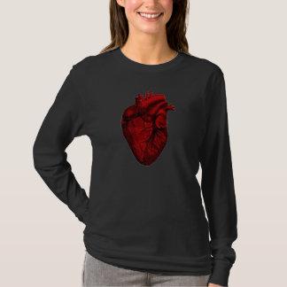T-shirt Chemise humaine de coeur