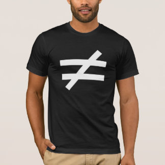 T-shirt Chemise inégale de Nietzsche d'Ubermensch