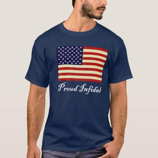 T-shirt Chemise infidèle fière