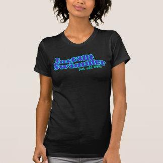 T-shirt Chemise instantanée d'obscurité de nageur