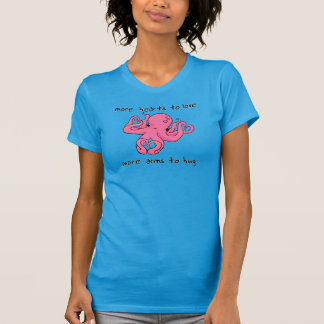 T-shirt Chemise intelligente de Saint-Valentin de poulpe