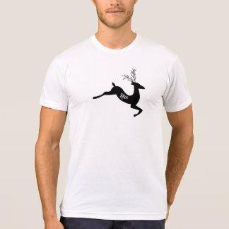 T-shirt Chemise intéressante de Noël - cerf commun