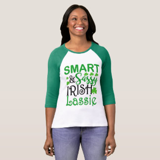 T-shirt Chemise irlandaise impertinente intelligente