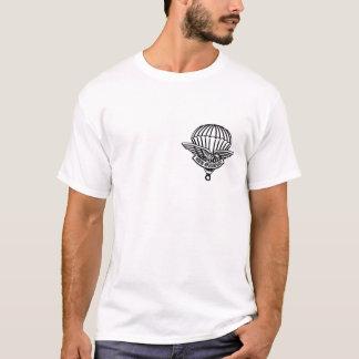 T-shirt chemise jamais fatiguée de parachutiste