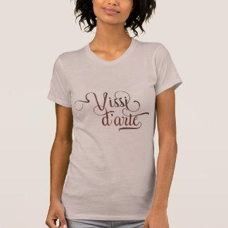 T-shirt Chemise légère typographique ornementale de d'arte