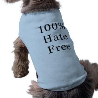 T-shirt Chemise libre de chien de haine