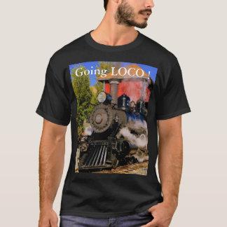 """T-shirt Chemise """"Loco allant de train ! """""""