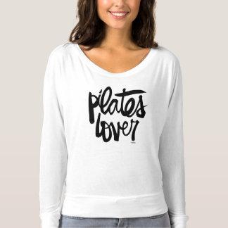 T-shirt Chemise longtemps gainée d'amant de Pilates