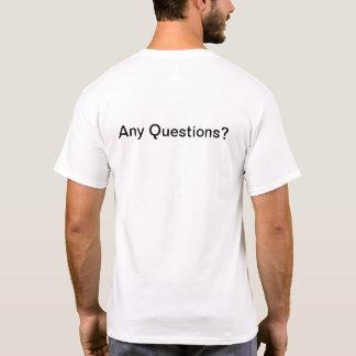 T-shirt Chemise lunatique et colorée pour toute occasion