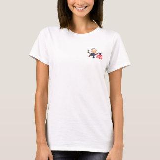 T-shirt Chemise magique de dames de Chino