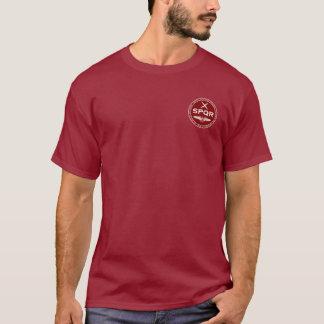 T-shirt Chemise marron et blanche de légion romaine de