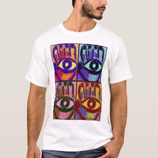 T-shirt Chemise mauvaise de protection oculaire de Hamsa