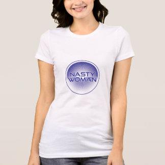 T-shirt Chemise méchante d'Ombre de femme