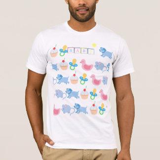 T-shirt Chemise mignonne ABDL de pièce en t adulte de bébé
