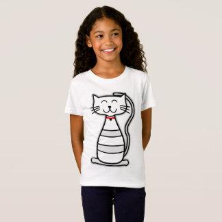 T-Shirt Chemise mignonne de chat