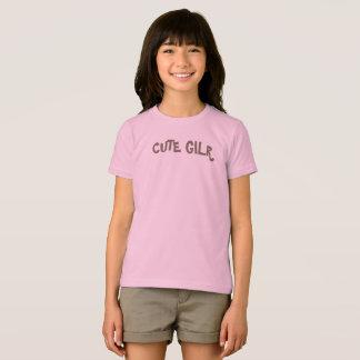 T-shirt Chemise mignonne de fille