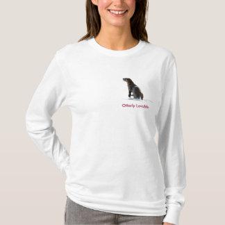 T-shirt Chemise mignonne de Long-Douille de dames d'amour