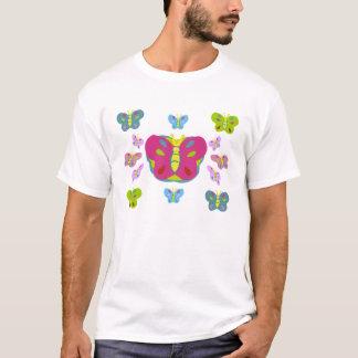T-shirt Chemise mignonne de papillon pour de petites