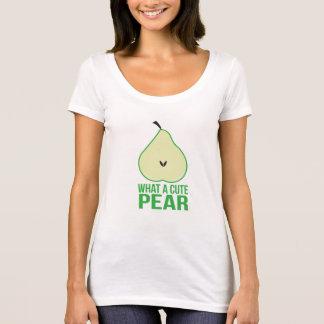 T-shirt Chemise mignonne de poire