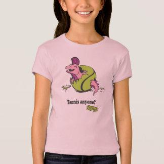 T-shirt Chemise mignonne pour des amants de tennis