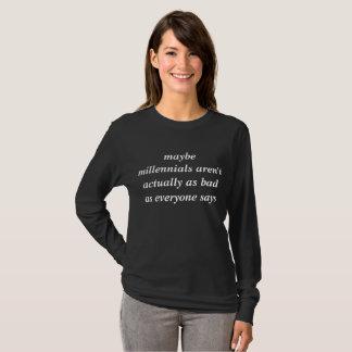 T-shirt chemise millénaire de soutien
