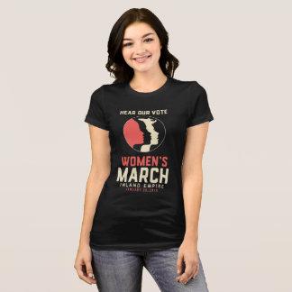 T-shirt Chemise mince de coupe d'IE du match des femmes
