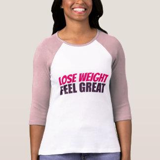 T-shirt Chemise mince de style de base-ball de plexus