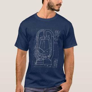 T-shirt Chemise monarque de Dietz de société de dessin au