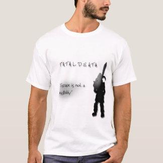 T-shirt Chemise mortelle de clan de Runescape de la mort