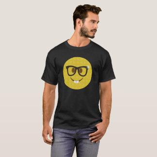 T-shirt Chemise nerd de partie d'Emoji - Emoji ringard